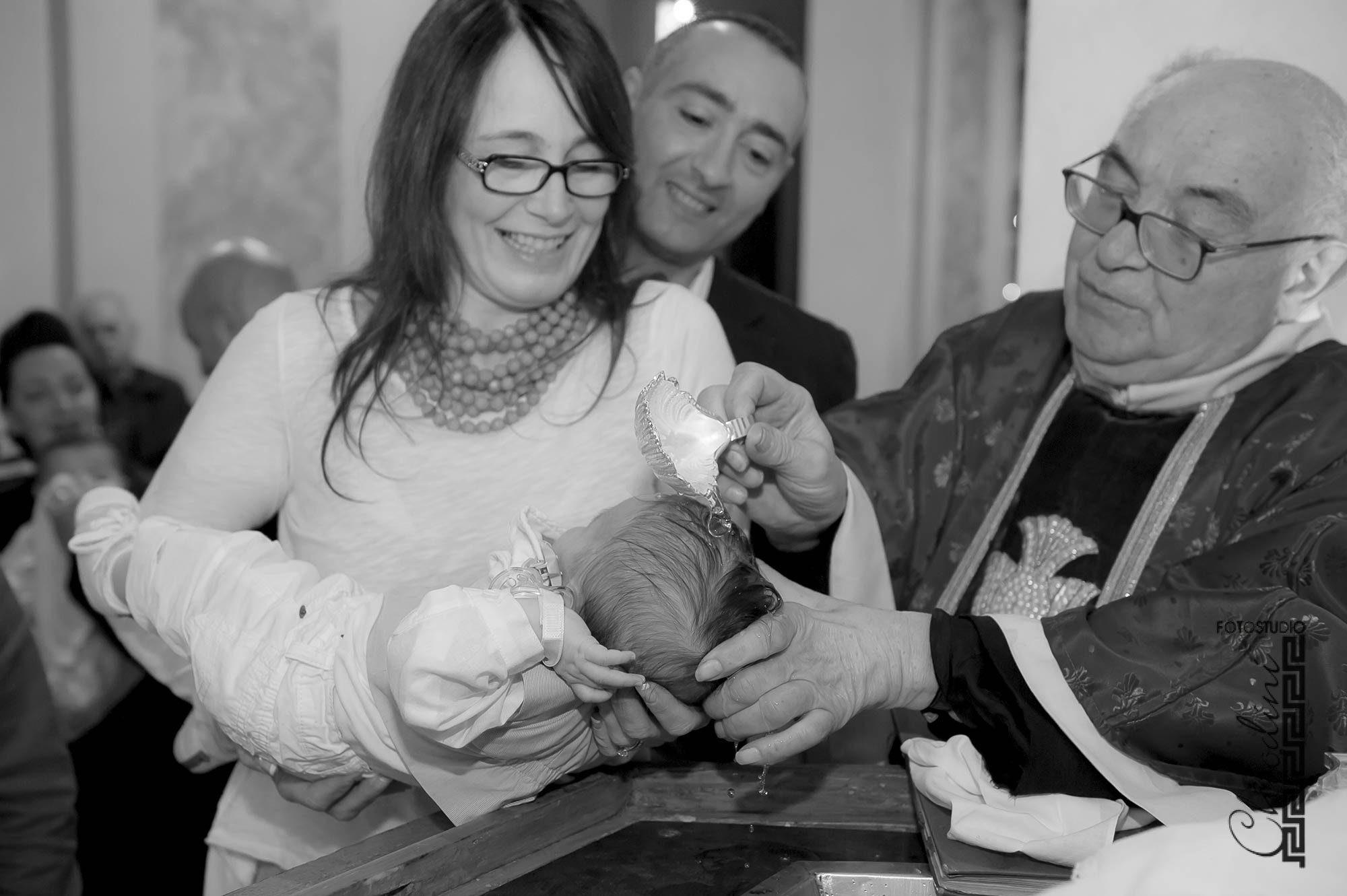 Giulio, battesimo Chiesa, Prato