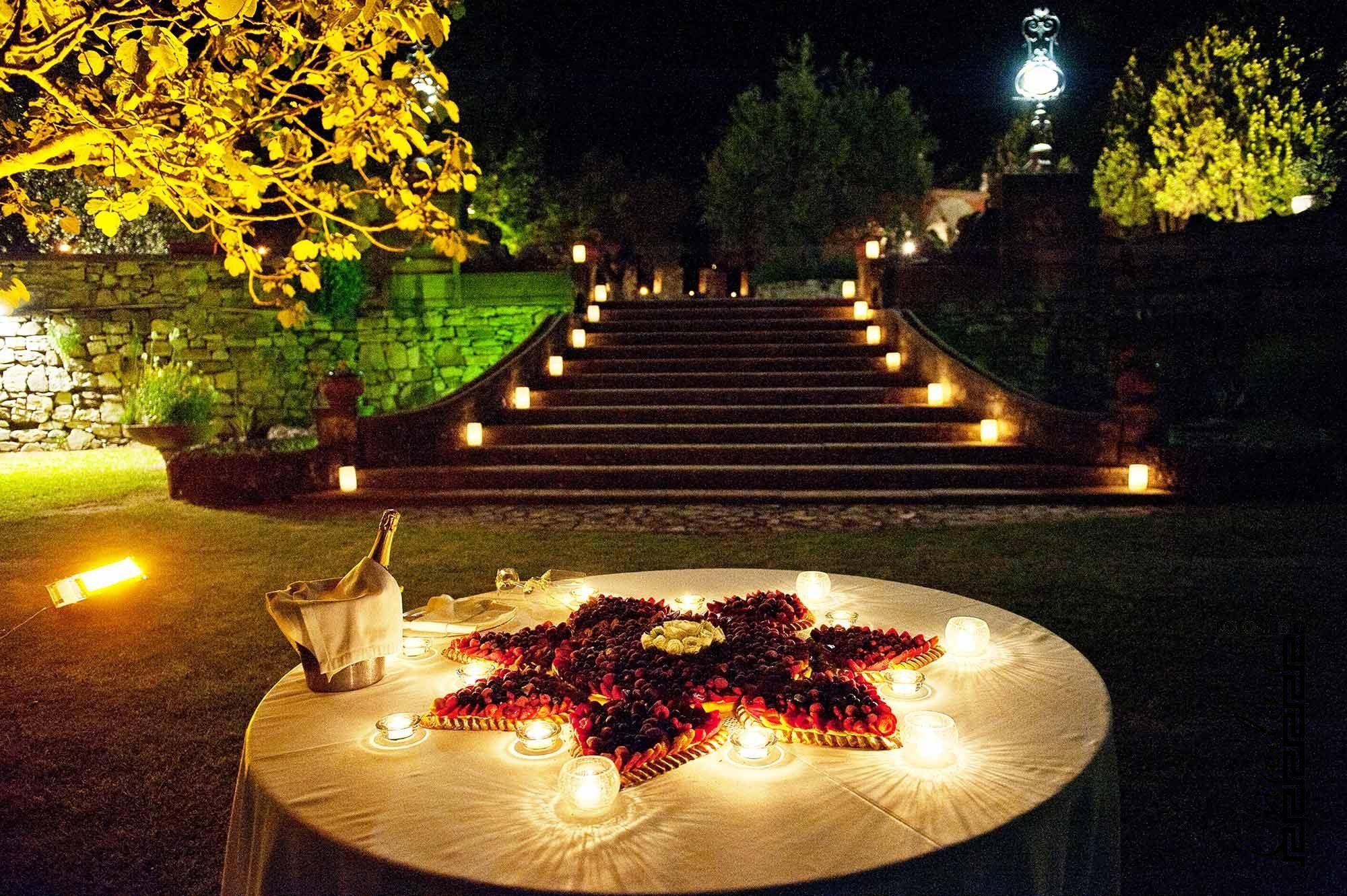 Matrimonio by night Foto a colori