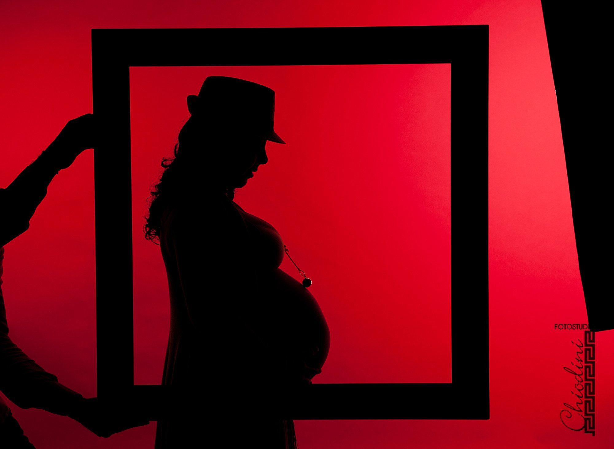 La dolce attesa, Benedetta, foto in studio a Prato